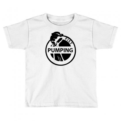 Fist Pumping Toddler T-shirt Designed By Ditreamx