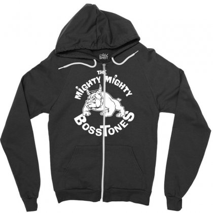 The Mighty Mighty Bosstones Zipper Hoodie Designed By Thesamsat