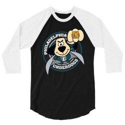 philadelphia underdogs 3/4 Sleeve Shirt | Artistshot