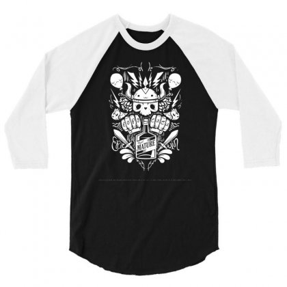 Real Mature 3/4 Sleeve Shirt Designed By Specstore