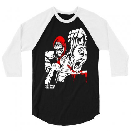 Red Murder 3/4 Sleeve Shirt Designed By Specstore
