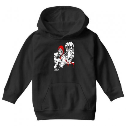 Red Murder Youth Hoodie Designed By Specstore