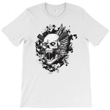 Sealed Vampire Skull T-shirt Designed By Specstore