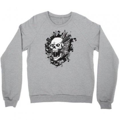 Sealed Vampire Skull Crewneck Sweatshirt Designed By Specstore