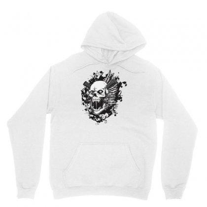 Sealed Vampire Skull Unisex Hoodie Designed By Specstore