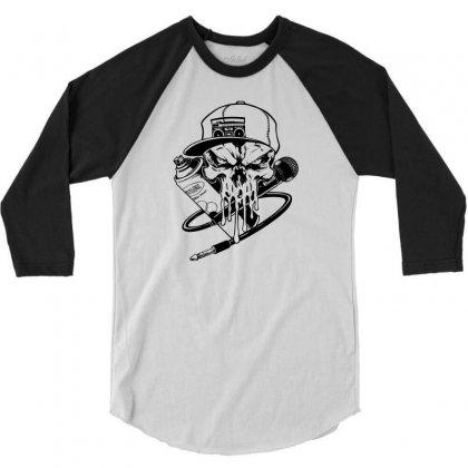 Skull Artis 3/4 Sleeve Shirt Designed By Specstore