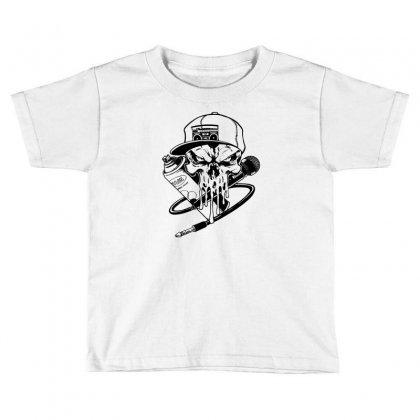 Skull Artis Toddler T-shirt Designed By Specstore
