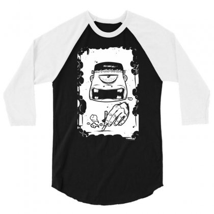 Stop Smoking 3/4 Sleeve Shirt Designed By Specstore