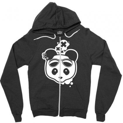 Super Hippies Panda Zipper Hoodie Designed By Specstore