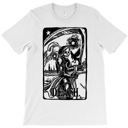 Tarot Death Card T-shirt Designed By Specstore