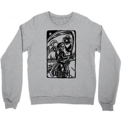 Tarot Death Card Crewneck Sweatshirt Designed By Specstore