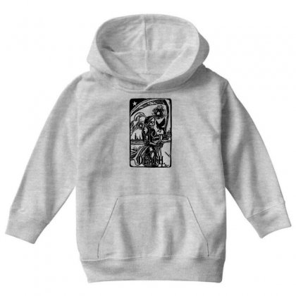 Tarot Death Card Youth Hoodie Designed By Specstore