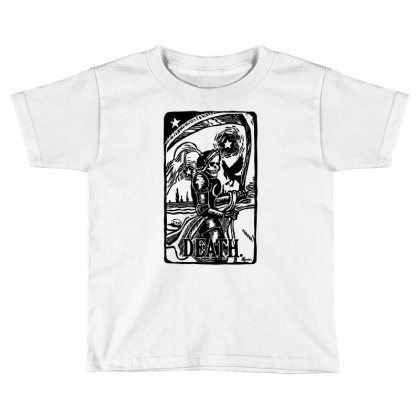 Tarot Death Card Toddler T-shirt Designed By Specstore