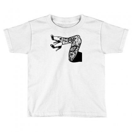 Tattooed Legs Toddler T-shirt Designed By Specstore