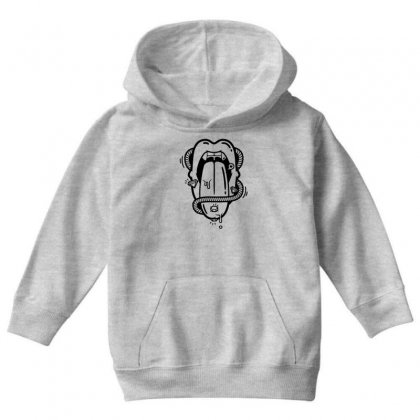 The Diamond Tongue Youth Hoodie Designed By Specstore