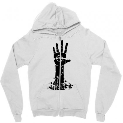 The Unperson Hand Zipper Hoodie Designed By Specstore