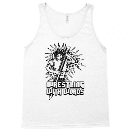 Wrestling With Words Tank Top Designed By Specstore