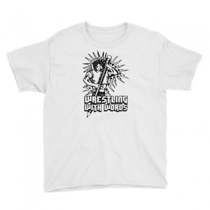 Wrestling With Words Youth Tee Designed By Specstore