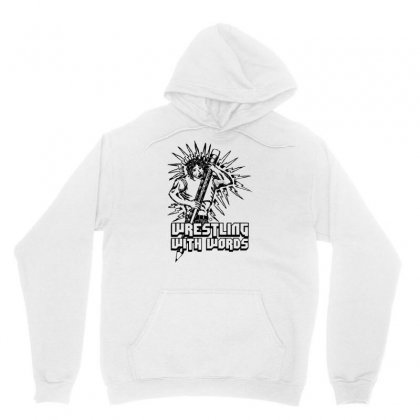 Wrestling With Words Unisex Hoodie Designed By Specstore