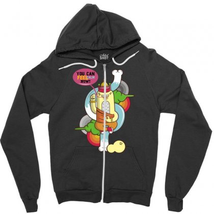 You Can Calm Now Zipper Hoodie Designed By Specstore
