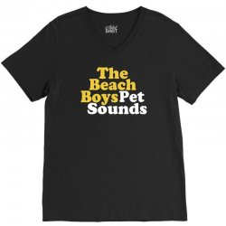 The Beach Boys Pet Sounds V-Neck Tee   Artistshot