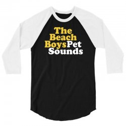 The Beach Boys Pet Sounds 3/4 Sleeve Shirt   Artistshot