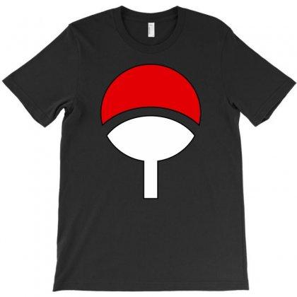 Uchiha Clan Logo T-shirt Designed By Thesamsat