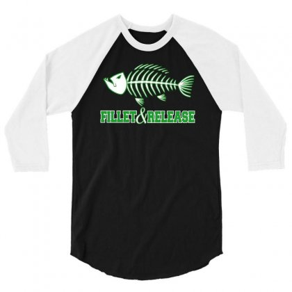 Fillet And Release 3/4 Sleeve Shirt Designed By Buckstore