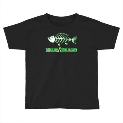 Fillet And Release Toddler T-shirt Designed By Buckstore