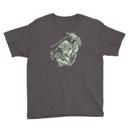 Gloves Mask Skull Youth Tee Designed By Buckstore