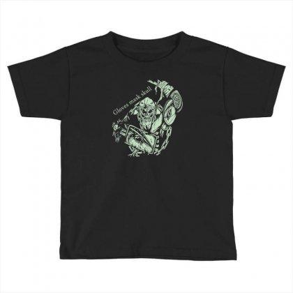 Gloves Mask Skull Toddler T-shirt Designed By Buckstore