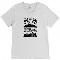 Camping shirt V-Neck Tee | Artistshot