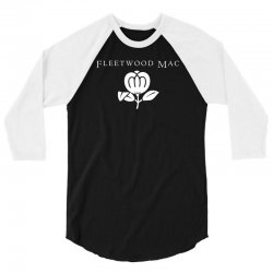Fleetwood Mac Band Logo 3/4 Sleeve Shirt | Artistshot