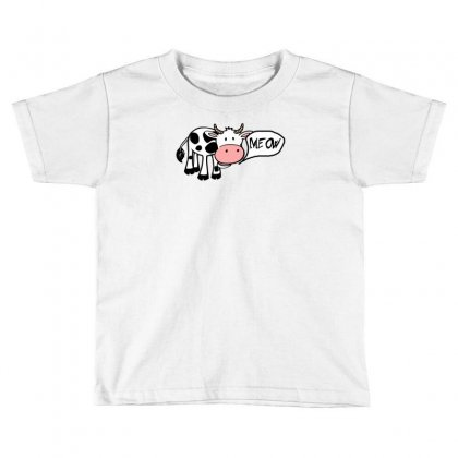 Identity Crisis Cat Cow Toddler T-shirt Designed By Thesamsat