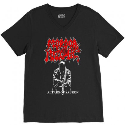 Altars Of Sauron V-neck Tee Designed By Specstore