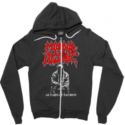 Altars Of Sauron Zipper Hoodie Designed By Specstore