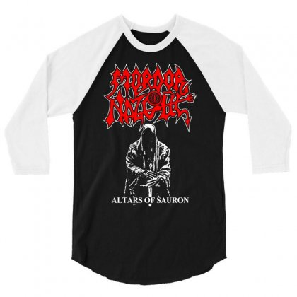 Altars Of Sauron 3/4 Sleeve Shirt Designed By Specstore