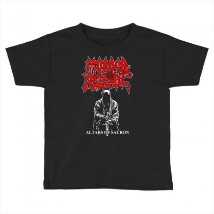Altars Of Sauron Toddler T-shirt Designed By Specstore