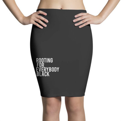 Rooting For Everybody Black Pencil Skirts Designed By Feniavey