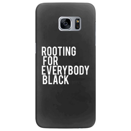 Rooting For Everybody Black Samsung Galaxy S7 Edge Case Designed By Feniavey