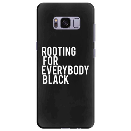 Rooting For Everybody Black Samsung Galaxy S8 Plus Case Designed By Feniavey