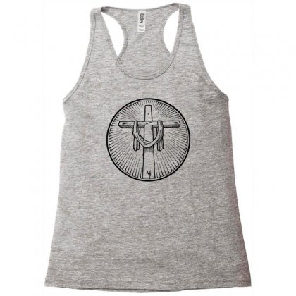 Easter Sunday Cross Racerback Tank Designed By Specstore