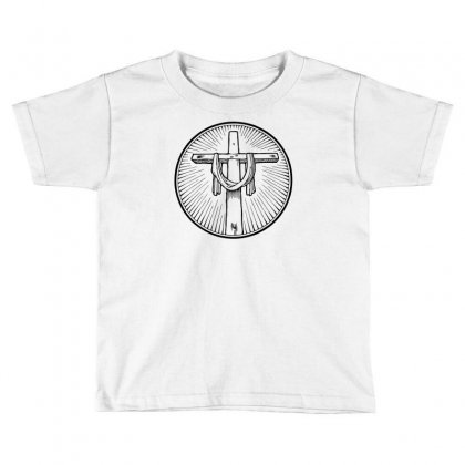 Easter Sunday Cross Toddler T-shirt Designed By Specstore