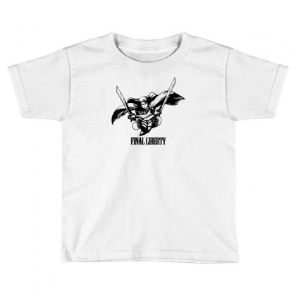 Final Liberty Toddler T-shirt Designed By Specstore