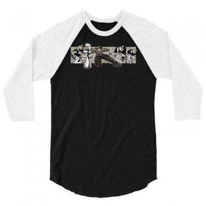 Graffiti Man 3/4 Sleeve Shirt Designed By Specstore