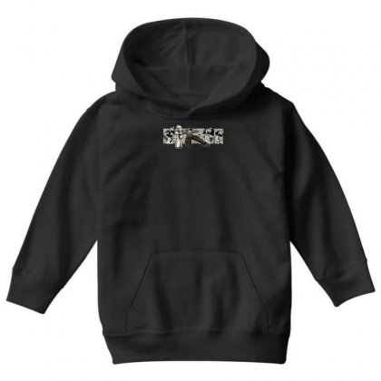 Graffiti Man Youth Hoodie Designed By Specstore