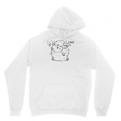Happy Love And Life Sheep Unisex Hoodie Designed By Specstore