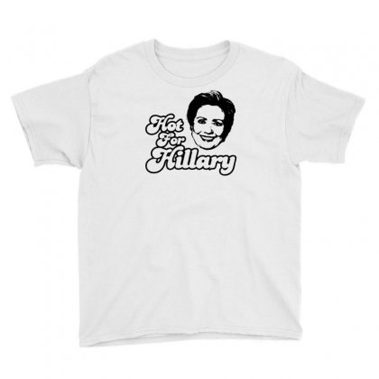 Hot For Hillary Youth Tee Designed By Specstore