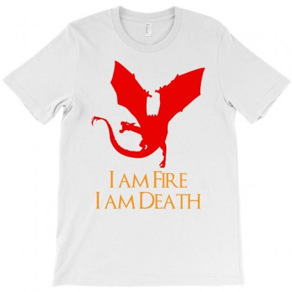 I Am Fire I Am Death T-shirt Designed By Specstore