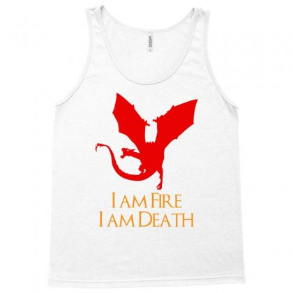 I Am Fire I Am Death Tank Top Designed By Specstore